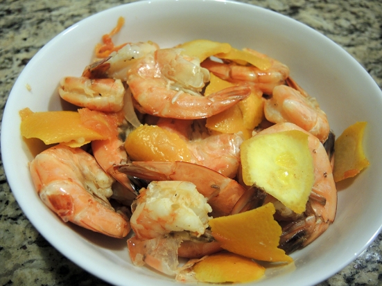 Orange Shrimp Recipe by Man Fuel