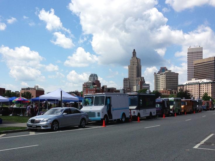 Providence Flea and Food Trucks