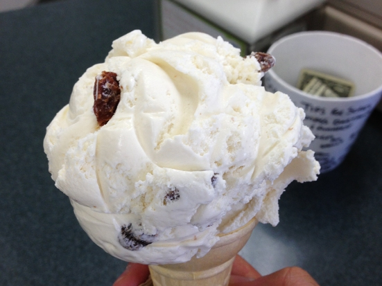 Rum Raisin from Somerset MA