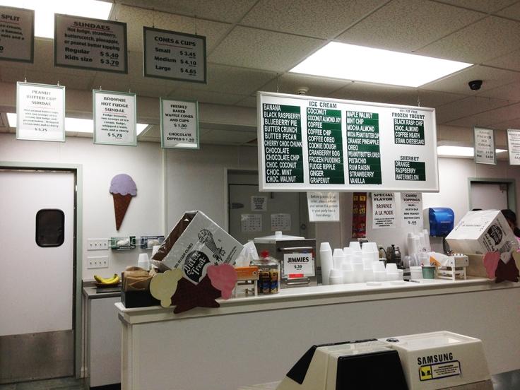 Somerset Creamery Interior - Somerset MA