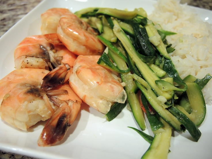 Steamed Orange Shrimp by Man Fuel