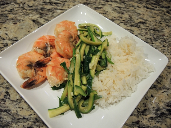Steamed Orange Shrimp Recipe by Man Fuel