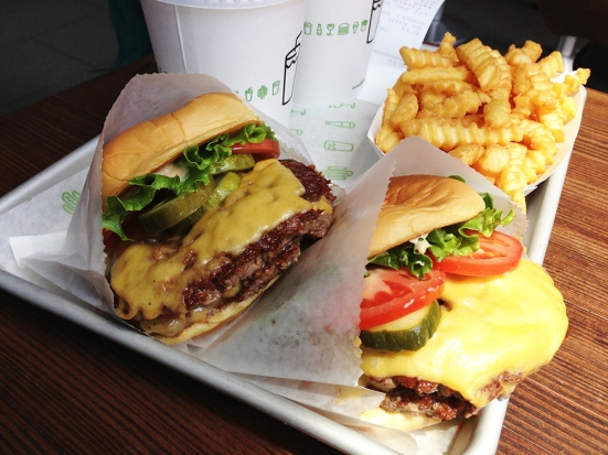 Shake Shack - Chestnut Hill MA - Cheeseburgers