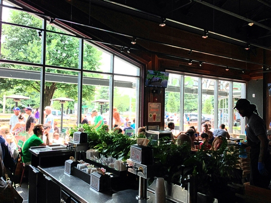 Shake Shack - Chestnut Hill MA - Interior
