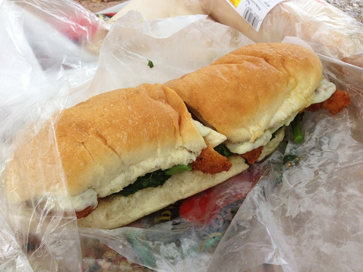 Venda Ravioli - Providence RI - Breaded Chicken Sub