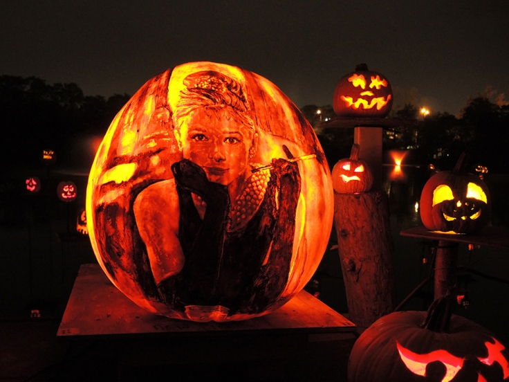 Audrey Hepburn - Jack-o-lantern Spectacular Roger Williams Park Zoo