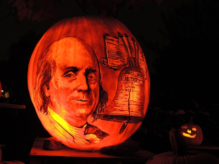 Ben Franklin - Jack-o-lantern Spectacular Roger Williams Park Zoo