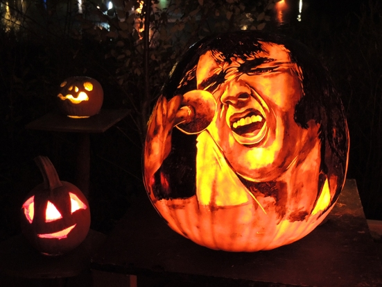 Elvis - Jack-o-lantern Spectacular Roger Williams Park Zoo