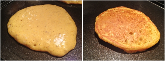 Flipping Pancakes at the Right Time