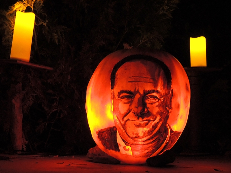 James Gandalfini - Jack-o-lantern Spectacular Roger Williams Park Zoo