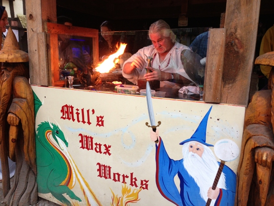 King Richard's Faire - Candlemaker Mike
