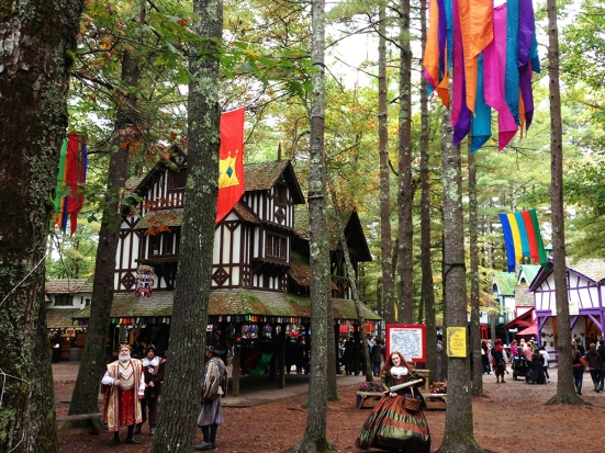 King Richard's Faire - Inside with Man Fuel