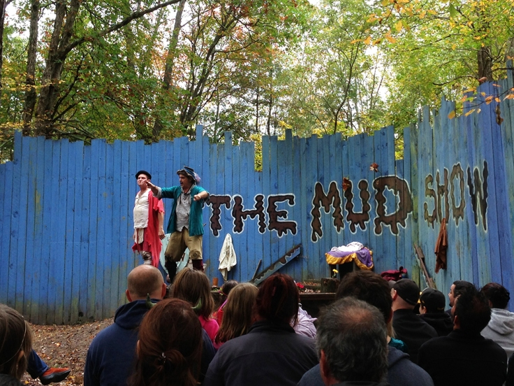 The Mud Show at King Richard's Faire