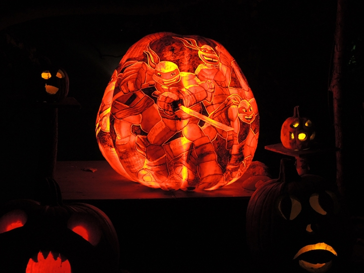 TMNT - Jack-o-lantern Spectacular Roger Williams Park Zoo