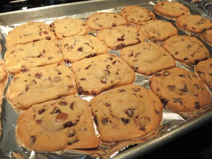 Twenty Peanut Butter Cup Chocolate Chip Cookies by Man Fuel