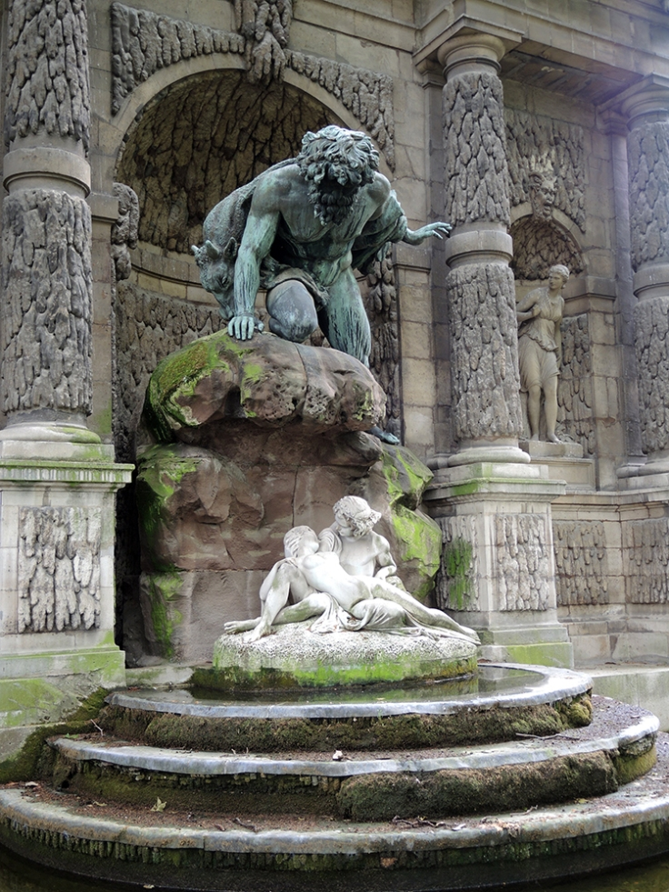 Jardin du Luxembourg - Medici Fountain From the Side