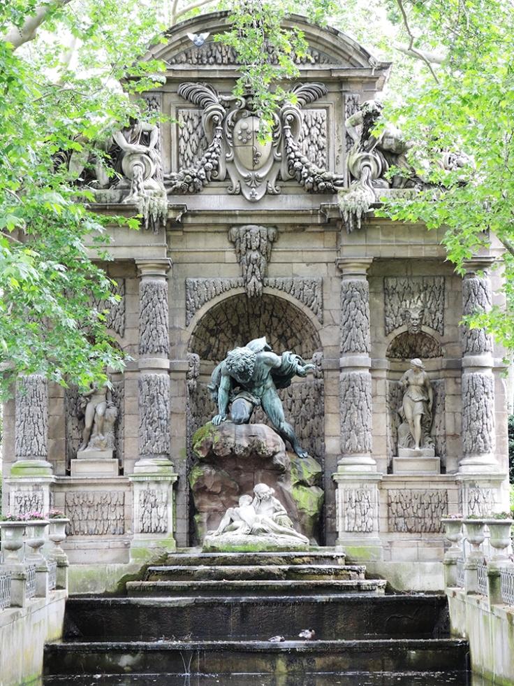 Jardin du Luxembourg - Medici Fountain
