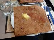 Ham and Cheese Buckwheat Crepe