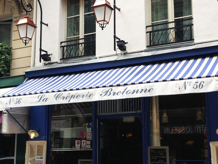 La Creperie Bretonne - Paris, France