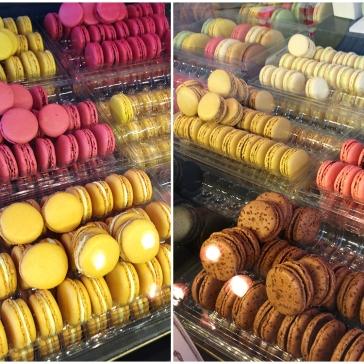 Macarons in Laduree Bakery