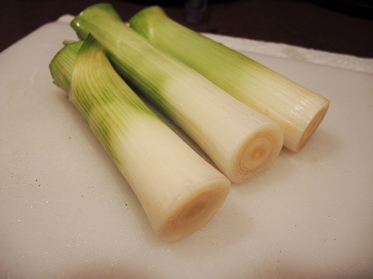 Leeks - Washed and Cut