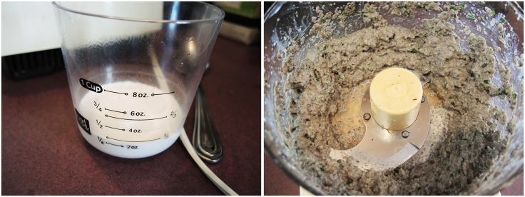 Man Fuel - Pureed Mushrooms with Cream for Stuffing Pork Chops
