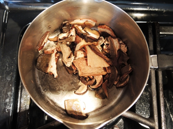 Man Fuel - Rehydrating Porcini Mushrooms