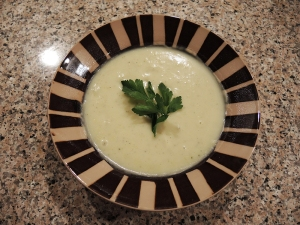 Man Fuel Food Blog - Creamy Potato Leek Soup Recipe