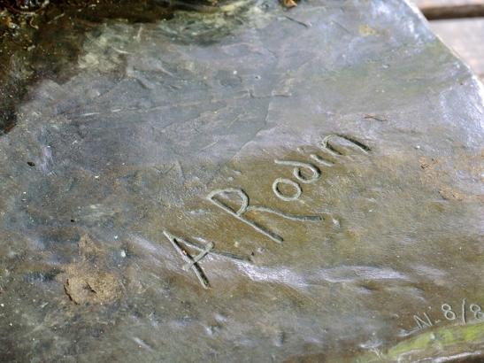 Auguste Rodin's Signature
