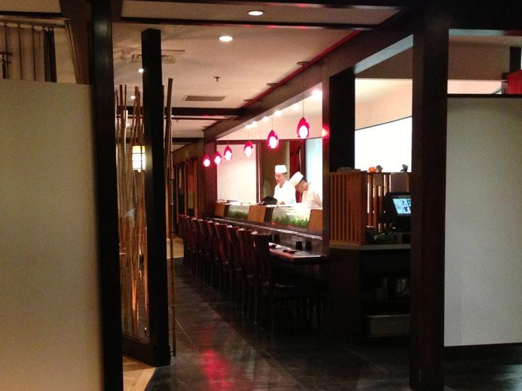 Oga's Japanese Restaurant Interior - Natick, MA