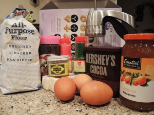 Man Fuel Food Blog - Butter Cookie Ingredients