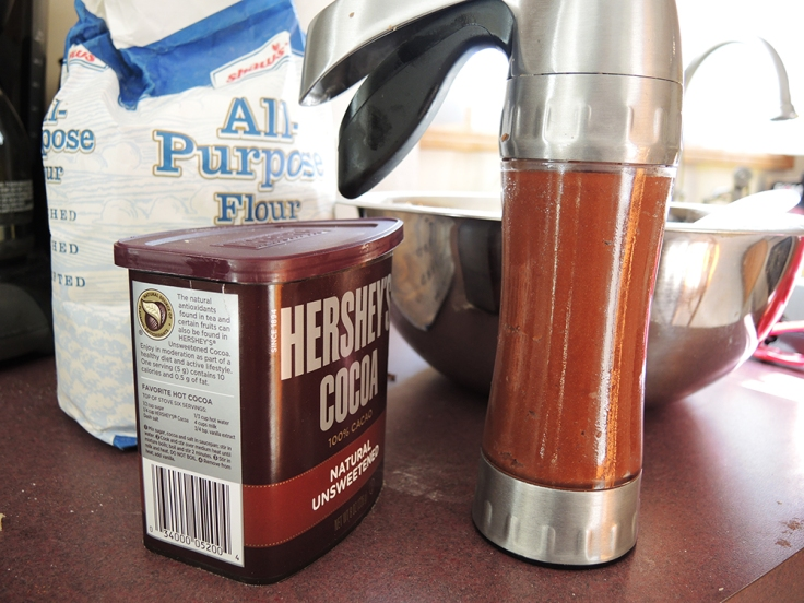 Man Fuel Food Blog - Chocolate Butter Cookie Dough in Pastry Gun