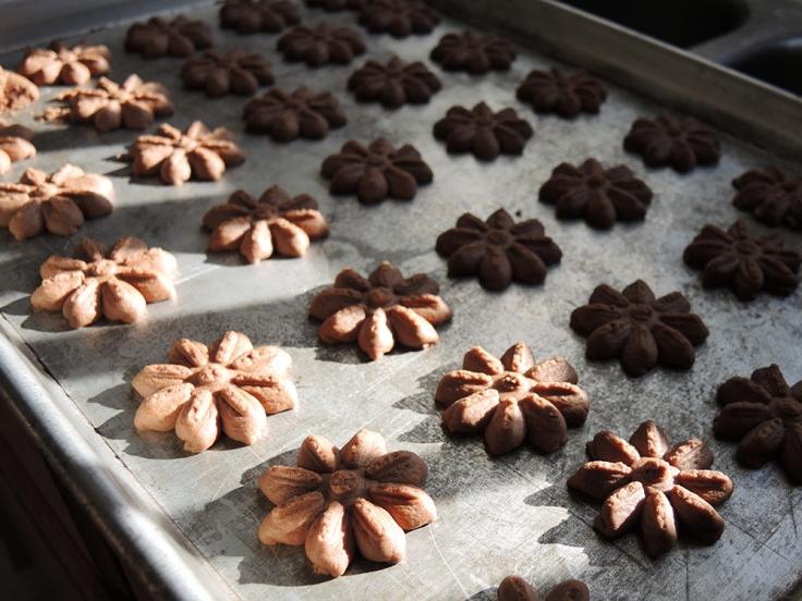 Man Fuel Food Blog - Chocolate Butter Cookies