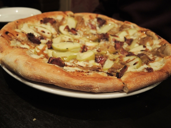 Man Fuel Food Blog - Cibo Matto - Bacon and Apple Pizza