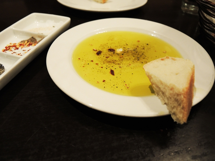 Man Fuel Food Blog - Cibo Matto - Olive Oil and Bread