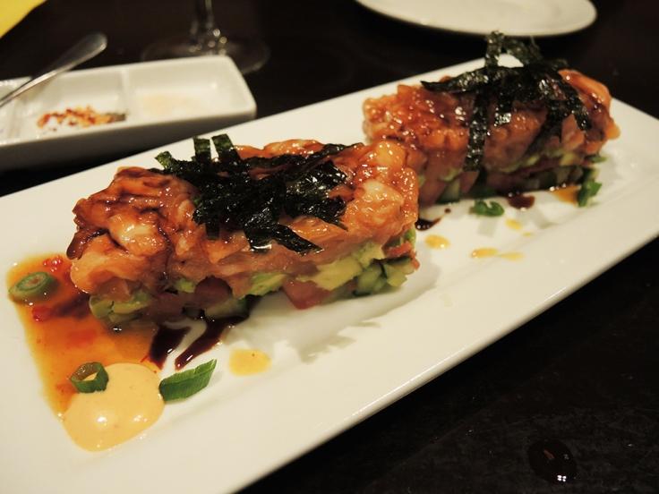 Man Fuel Food Blog - Cibo Matto - Salmon Tartare