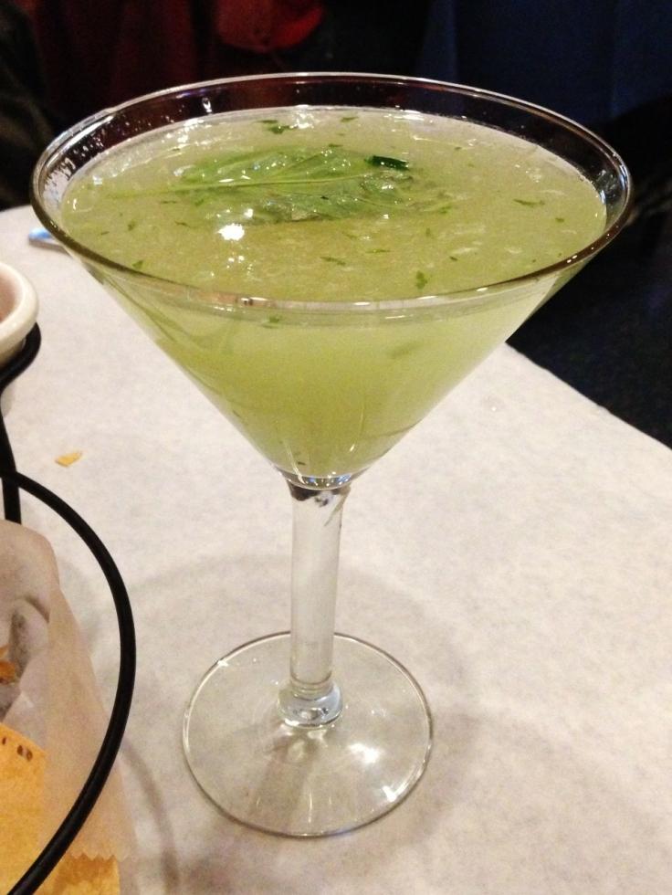 Rasoi - Basil Cocktail - Pawtucket, RI - www.manfuelblog.com