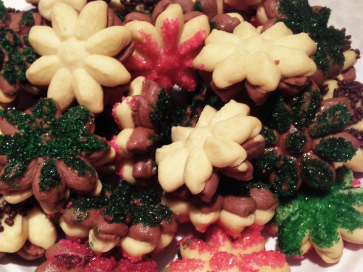 Man Fuel Food Blog - Butter Cookies with Sugar Crystals