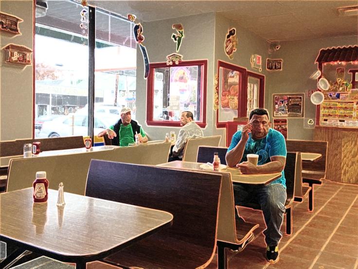 Man Fuel Food Blog - La Sorpresa Interior - Central Falls, RI