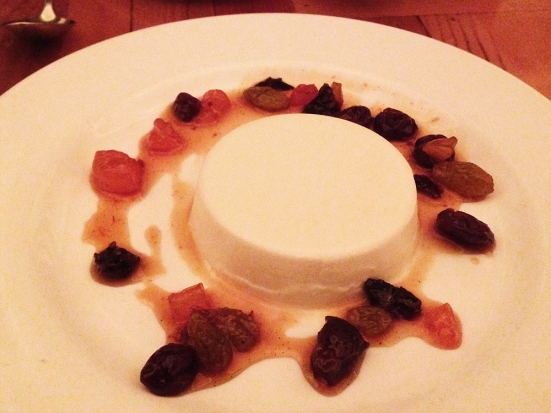 Man Fuel Food Blog - Lumiere - Newton, MA - Greek Yogurt Panna Cotta