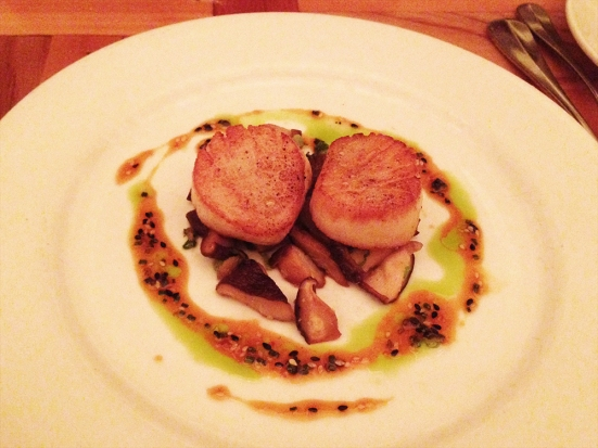 Man Fuel Food Blog - Lumiere - Newton, MA - Scallops
