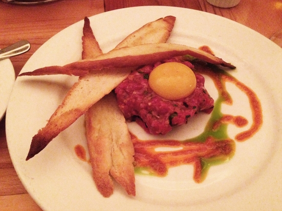 Man Fuel Food Blog - Lumiere - Newton, MA - Steak Tartare