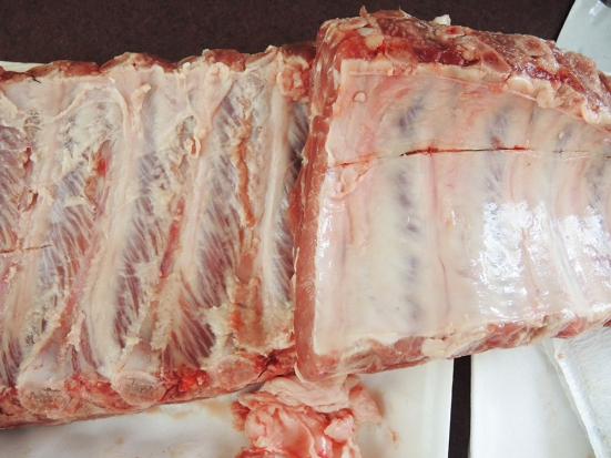 Man Fuel Food Blog - Removing Silverskin from Baby Back Ribs
