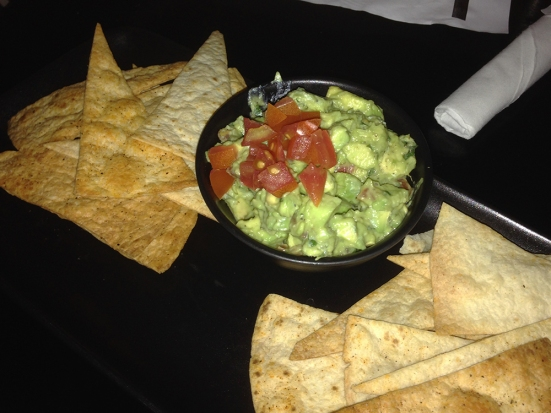 Man Fuel Food Blog - Warehouse Bar and Grill - Boston, MA - Guacamole