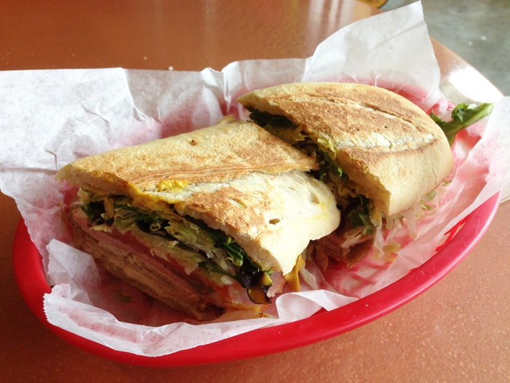 Marisol's Cafe - Dartmouth MA - Cubana Sandwich