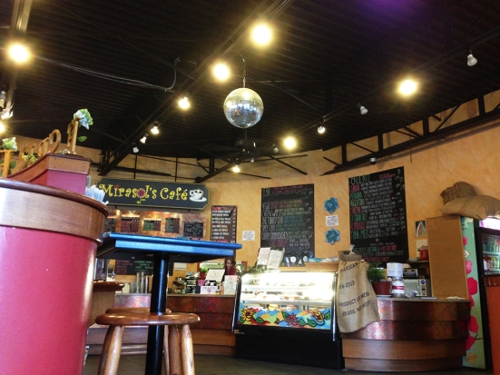 Marisol's Cafe - Dartmouth MA - Interior