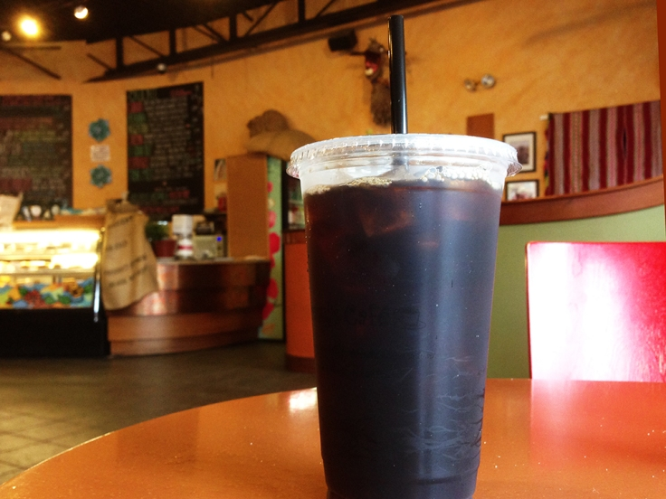Marisol's Cafe - Dartmouth MA - Medium Roast ICed Coffee