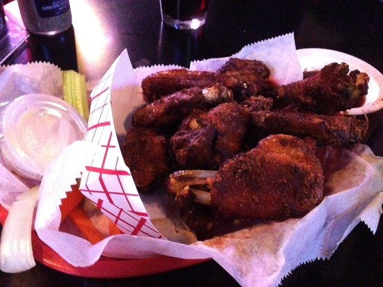 Man Fuel - a food blog - Chili Head Barbeque - West Bridgewater, MA - Smoked Wings
