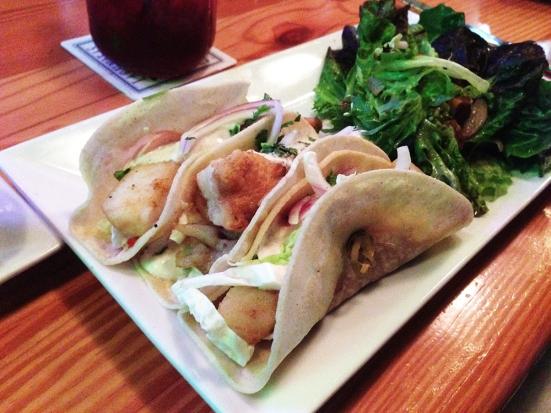 Man Fuel - a food blog - Chomp - Warren, RI - Fish Tacos