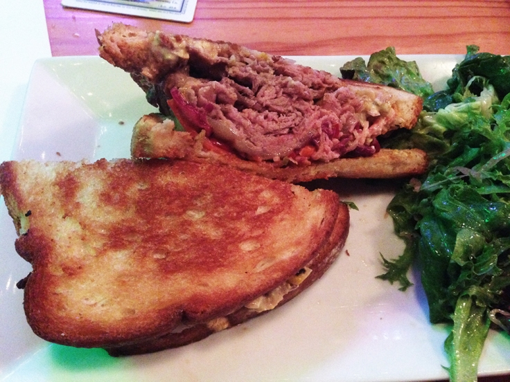 Man Fuel - a food blog - Chomp - Warren, RI - Smoked Beef Sandwich